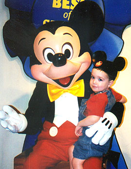 Wiley and Mickey Mouse