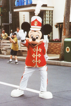 Mickey leads the parade in Disney's MGM Studios