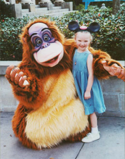 Autumn and King Louie