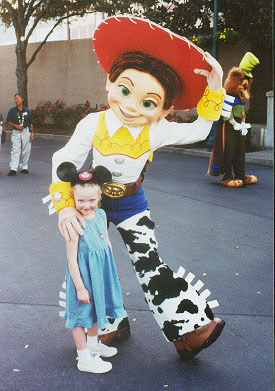 Autumn and Jessie (from Toy Story 2)