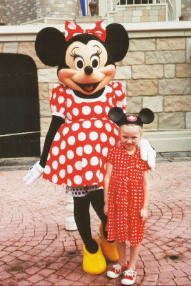 Autumn with Minnie Mouse