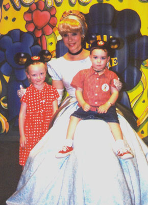 Autumn and Wiley with Cinderella