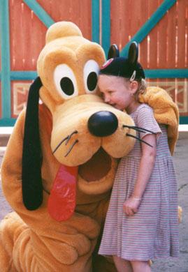 Autumn gives Pluto a kiss