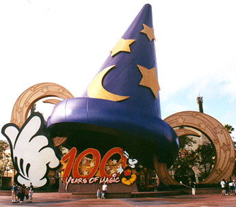Mickey's hat in MGM Studios