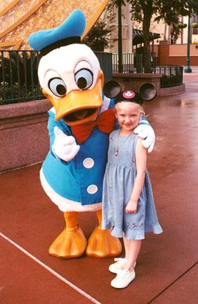 Autumn an Donald Duck